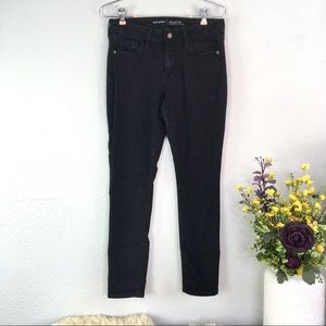 Old Navy Rockstar Mid Rise skinny jeans black